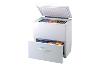 Chest Freezer with Drawer