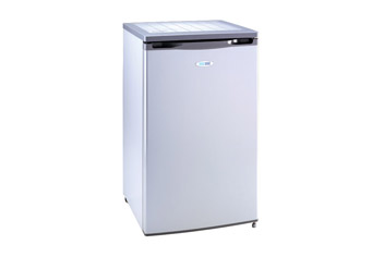 Silver Undercounter Fridge with 2 Star Frozen Food Compartment